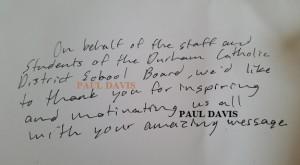 PAUL DAVIS, TEDX, SOCIAL MEDIA