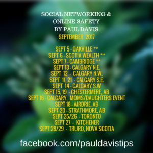 paul davis social media
